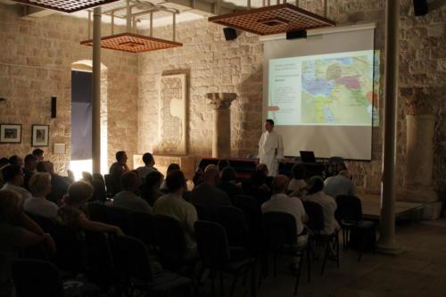 wykłady w École biblique et archéologique française de Jérusalem