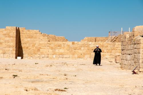 ruiny cytadeli w Avdat