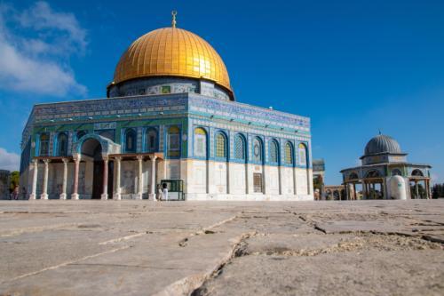 Kopuła Skały, Al-Haram asz-Szarif, czyli Wzgórze Świątynne w Jerozolimie