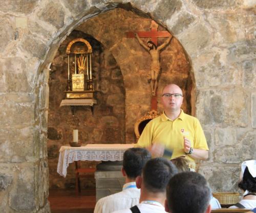 o. Paweł Trzopek OP, Kaplica Krzyżowców
