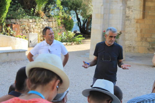 prof. Israel Finkelstein i ks. Adam Kubiś
