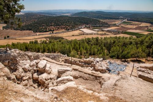 Dolina Terebintu z Tel Azeka