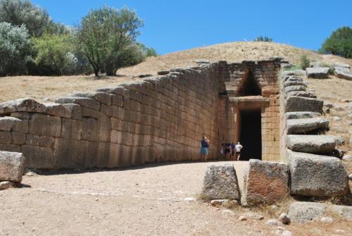 Mykeny - Grób Agamemnona