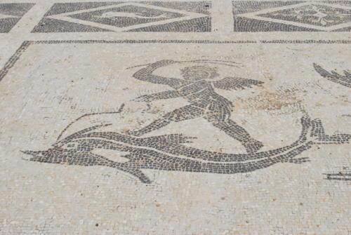 Istmia - łaźnie rzymskie